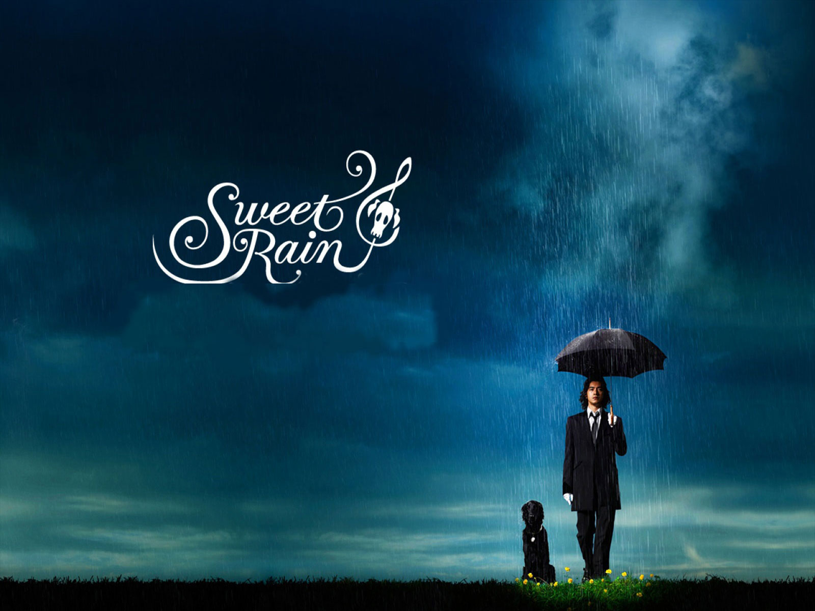 Sweet Rain Wallpaper