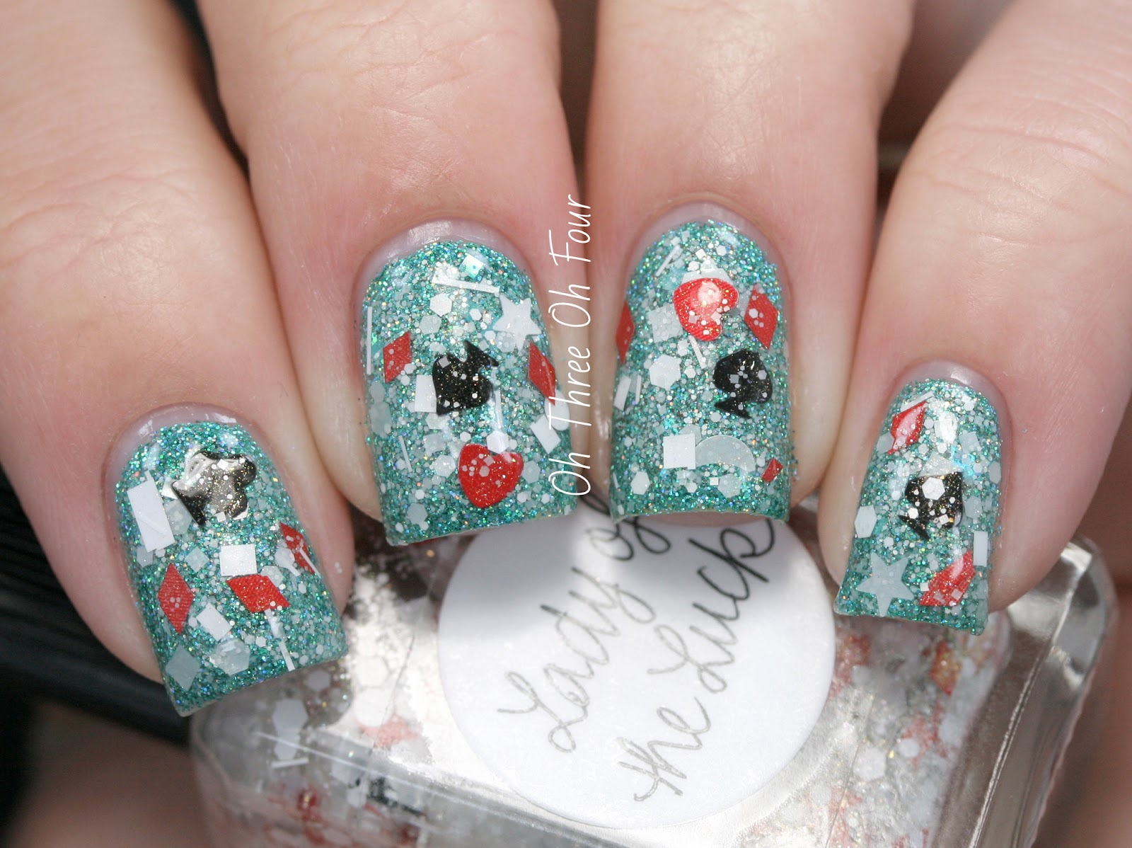Lynnderella Lady of the Luck swatch