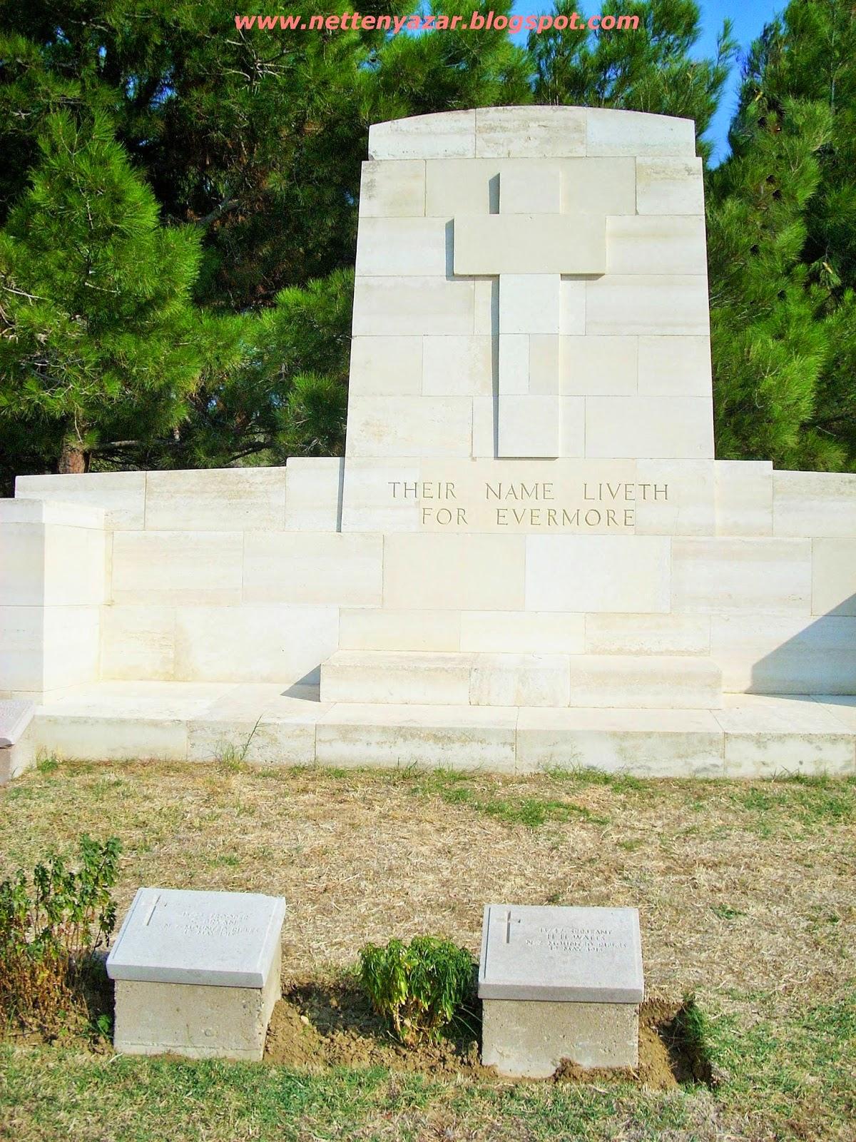 anzak cemetery