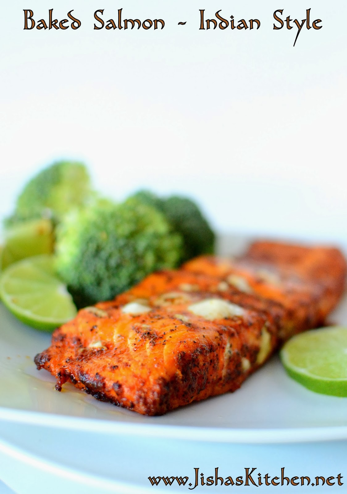 Indian Style Baked Salmon