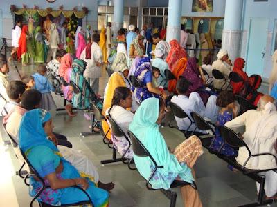 Jagadguru Kripalu Parishat Charitable Hospital at Barsana Dham