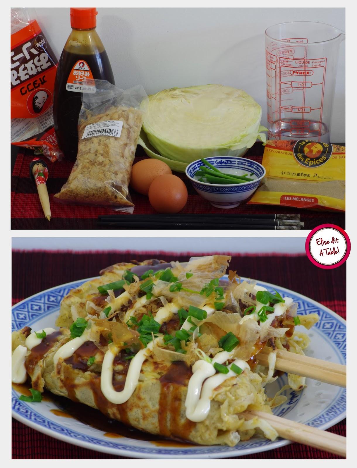 Recette Japonaise : Hashimaki / Okonomiyaki