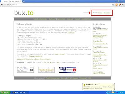 Paypal-Bux click,view,earn,ptc,bux,Make Money online