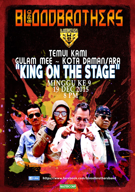 Event Bloodbrothers King On Stage