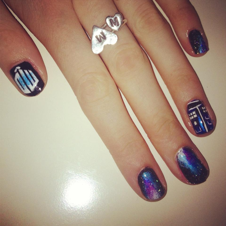 Doctor Who Nail Art | Nails by Mellissa.