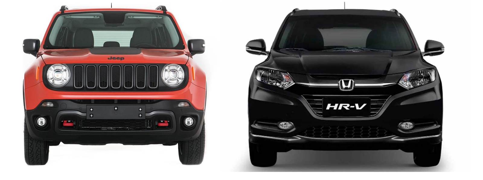 Jeep Renegade x Honda HR-V - frente