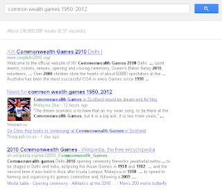 Use Google to limit the search results links.