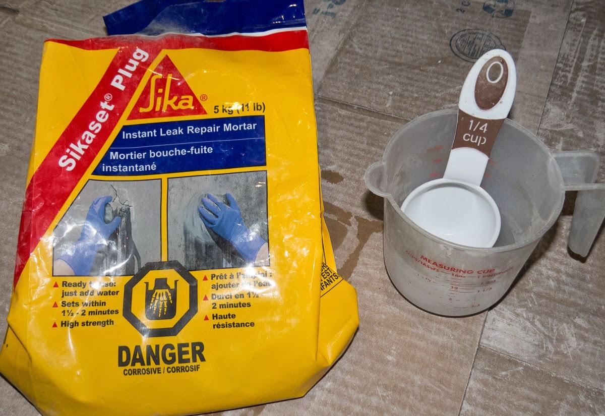 sika concrete crack repair epoxy
