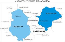MAPA DE CAJABAMBA