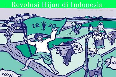 revolusi+hijau Sejarah Revolusi Hijau di Indonesia