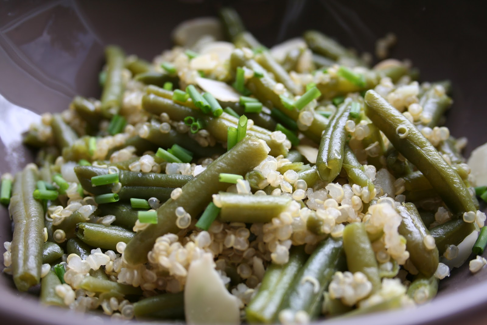 Po l e quinoa haricot vert blogs de cuisine - Quels sont les meilleures varietes d haricot vert ...