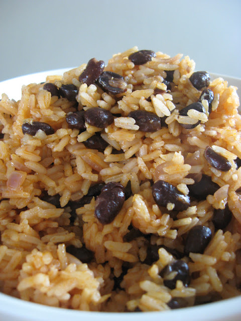 this cuban rice recipe was great jonas made it because rice is my ...