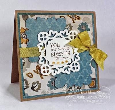"ODBD ""Flourished Verses"" ODBD Customer Card of the Day Debbie Seyer"