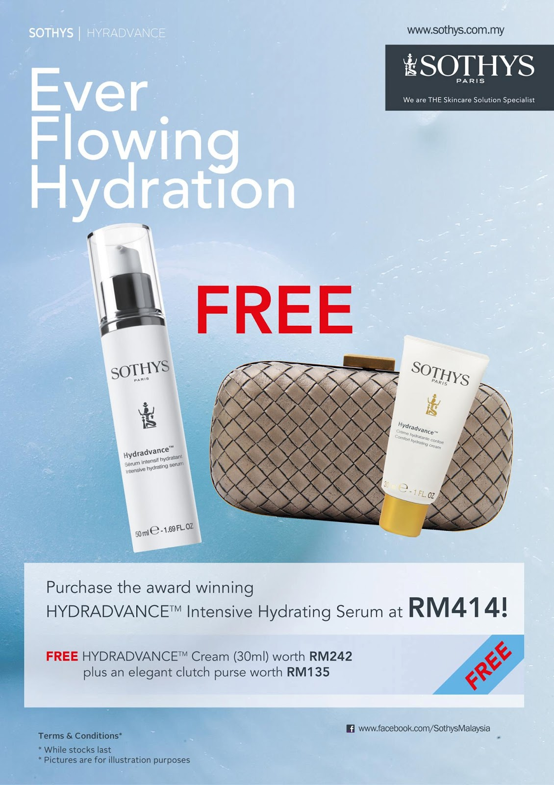 Cyb chea yee 39 s blog sothys free hydradvance cream with for 128 faubourg salon by sothys