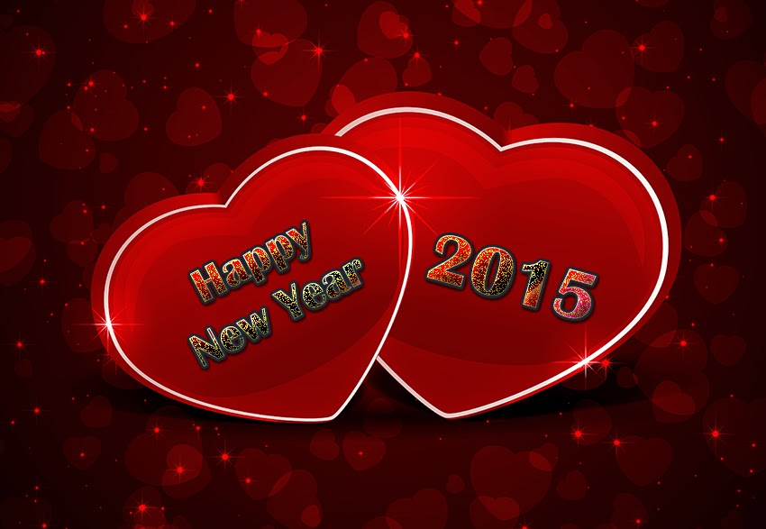 Latest Beautiful Happy New Year 2015 Cards – Free Download eCards