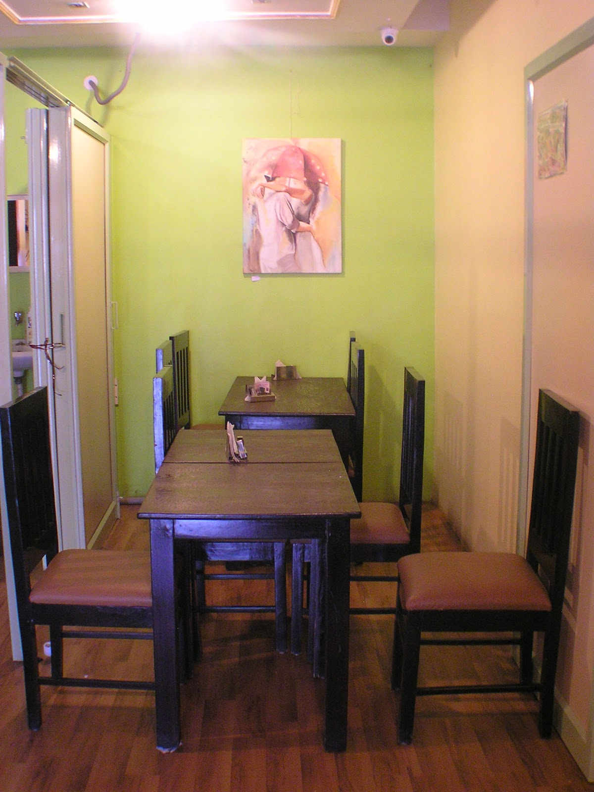Cafe Ambroisie - True French Cafe Experience: Solo Art Exhibition by ...