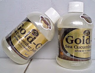 Jelly Gamat Gold G Sea Cucumber