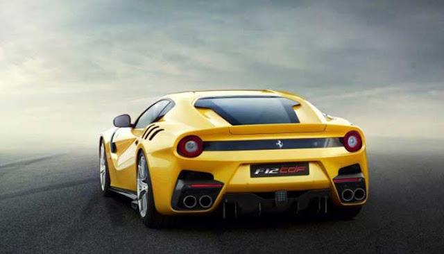 بالصور.. تعرف على سيارة فيراري F12tdf الجديدة