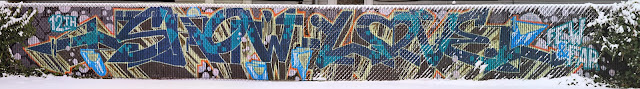 Show Love Fence, Stitched Images