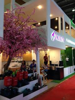 kontraktor pameran stand event design Kirin