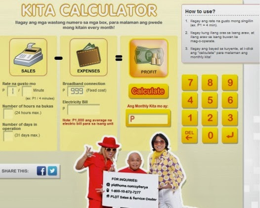 Kita Calculator Facebook Application