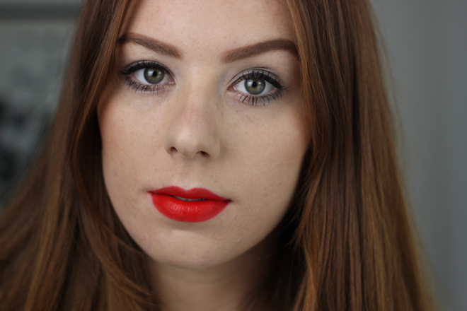 Bourjois Rouge Edition Velvet Lipstick - Hot Pepper Swatch