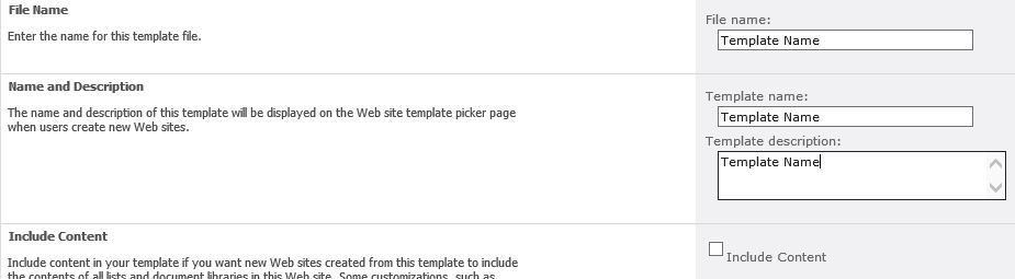 danie u0026 39 s knowledge base  sp2010  save site as template and import when you have sharepoint server