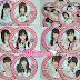 Bolacha para copos do AKB48 CAFE&SHOP Oficial