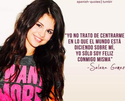 Todo Disney Selena Frases