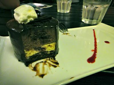 Three Layered of Chocolate Truffle Cake from Laurent Bernard Singapore