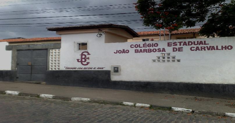 COLÉGIO ESTADUAL  JOÃO BARBOSA DE CARVALHO