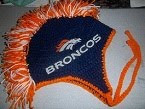 NFL Crocheted Hat