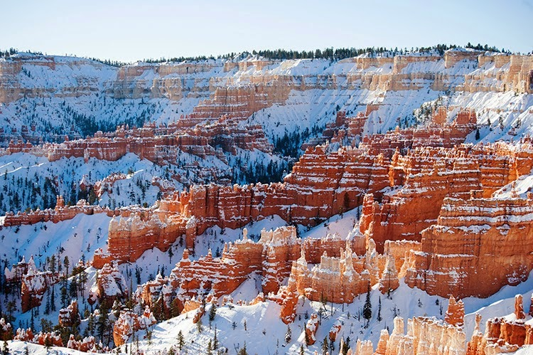 Bryce Utah, National Park winter