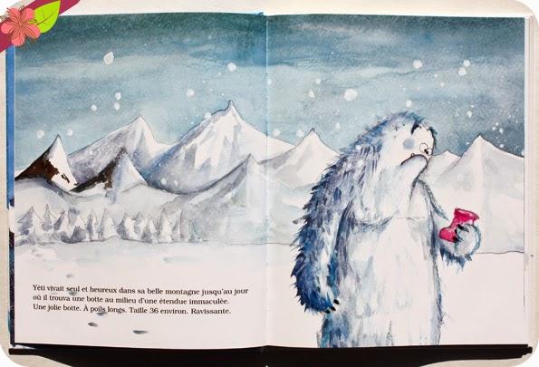 Yéti de Christine Naumann-Villemin et Marianne Barcilon - éditions Kaléidoscope