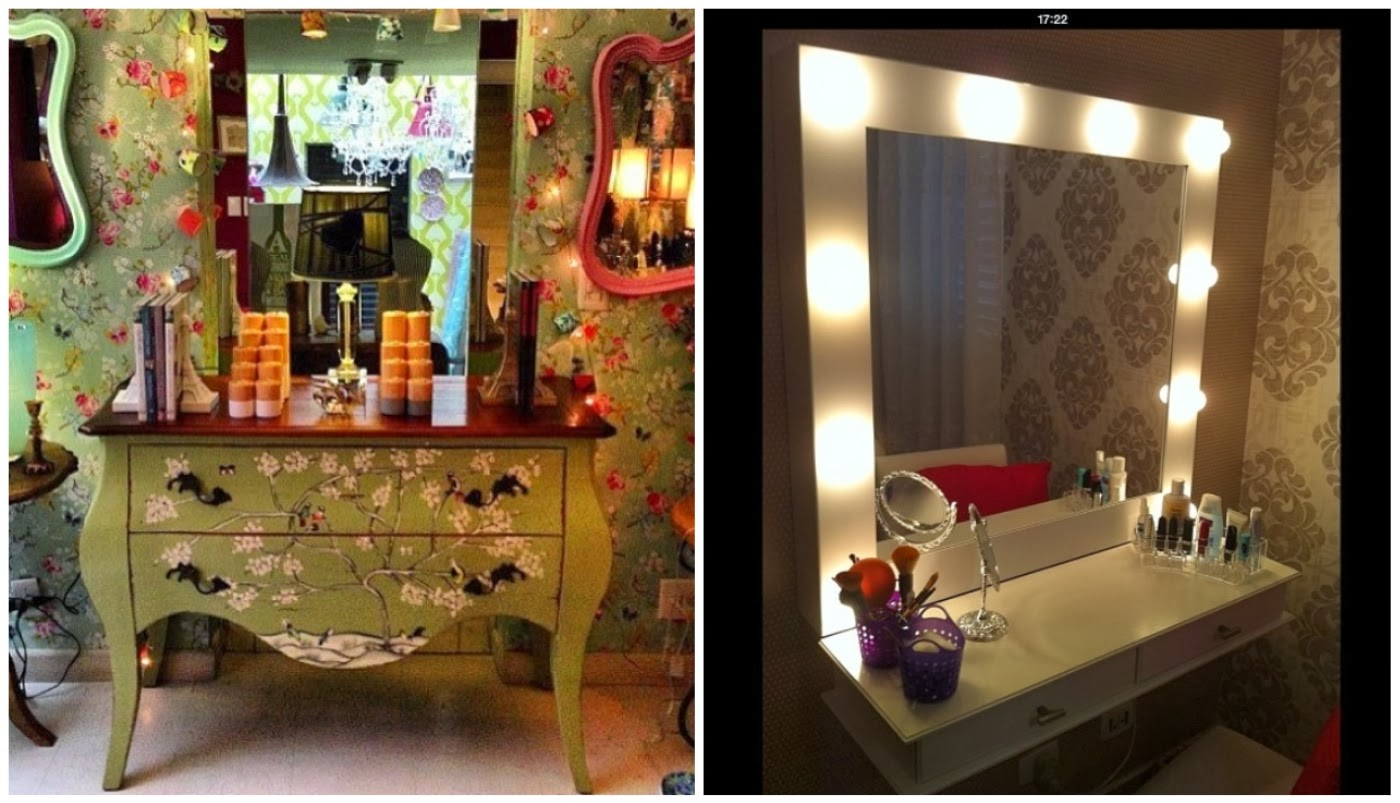insta-design cômoda antiga @coisasdadoris e penteadeira @rustikadesign01
