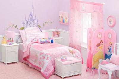 Ideje za uređenje sobe za princeze