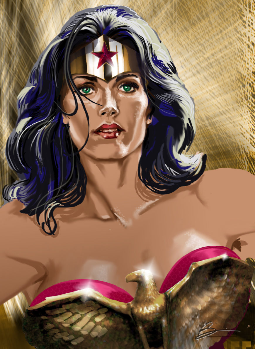 wonder woman, fan art