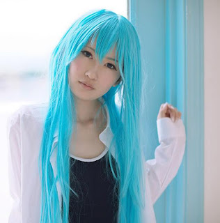 Hiokichi cosplay as Touwa Erio from Denpa Onna to Seishun Otoko