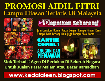 iklaneka: promosi lampu hiasan terlaris di malaysia ~ pdo