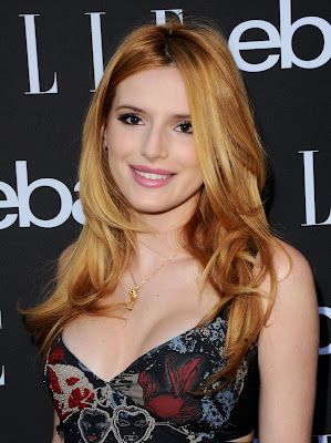 Bella Thorne in Donna Karan Dress at 6th Annual ELLE Women In Music Concert Celebration Red carpet