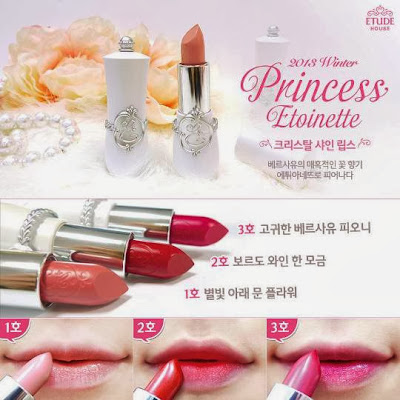 LipstickEtude House Princess Etoinette Season 2