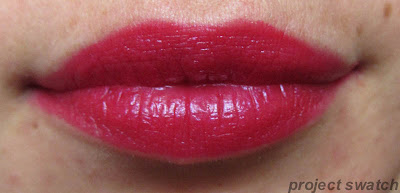 Fuchsianisa lip swatch