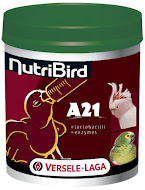 Crias alimentadas com NutriBird A21