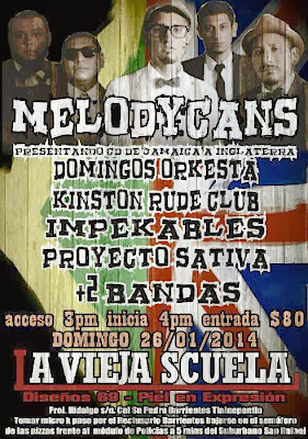 Melodycans en La Vieja Scuela