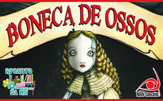 Promoção - Boneca de Ossos Holly Black Editora Novo Conceito