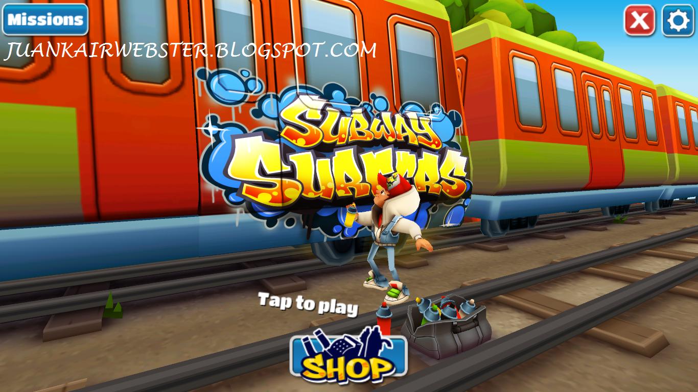Untuk gambaran Subway Surfers anda bisa lihat disini ( Screenshot ) :