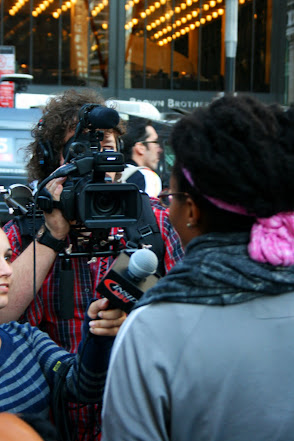 Press at Occupy Wall Street