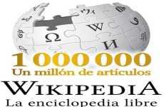 Wikipedia en español ya superó el millón de artículos