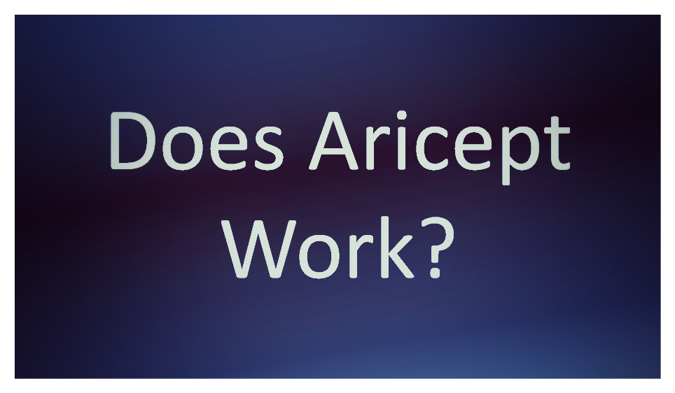Does Aricept Work?
