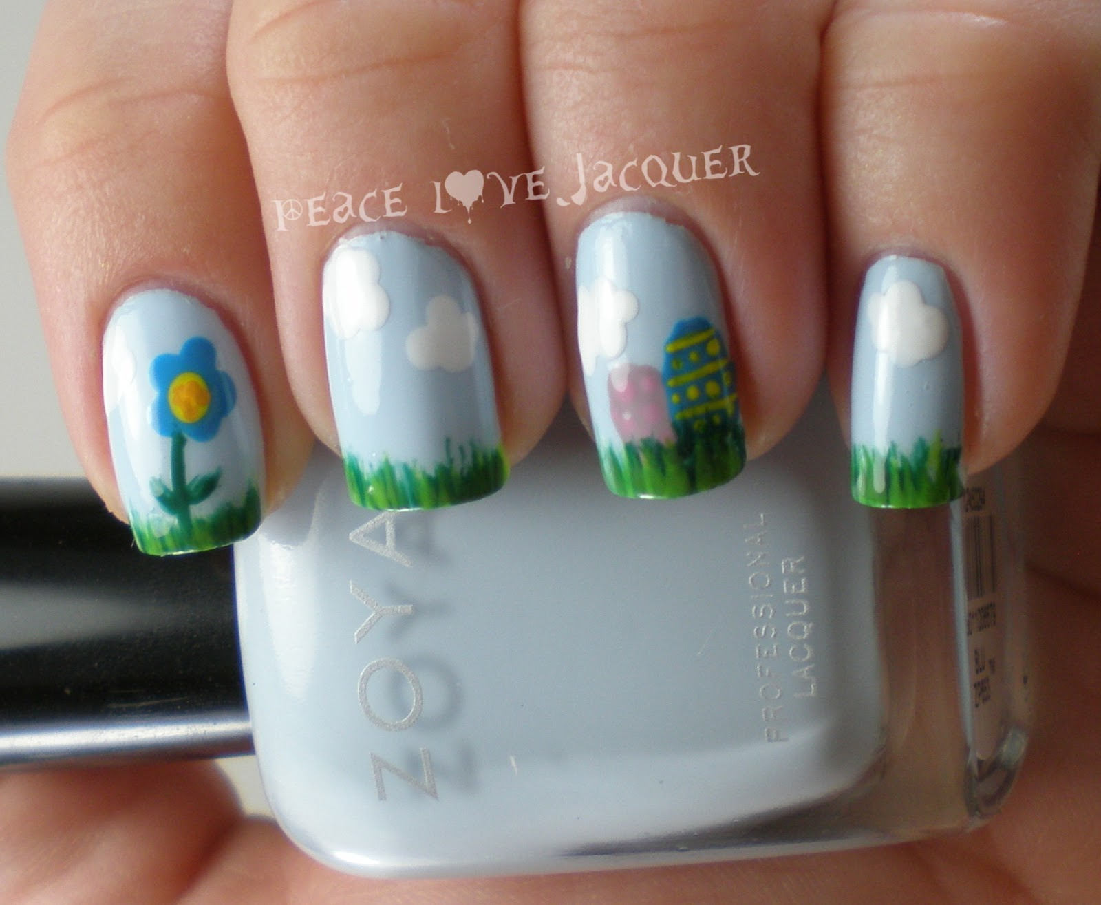 Peace Love Lacquer: Easter Nail Art Challenge Day 3 - Eggs